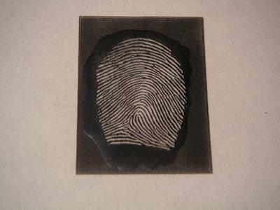 распечатать бланк на отпечатки пальцев