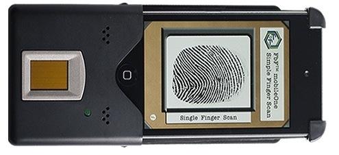 Биометрический сканер для iPhone